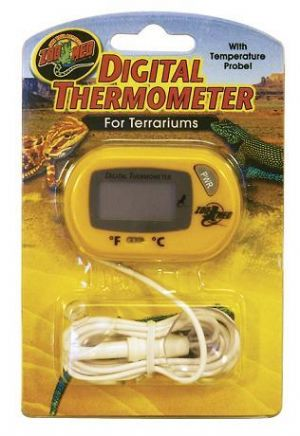 Zoo Med Digital Terrarium Thermometer FREEPOST